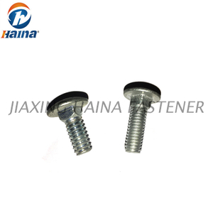Zinc Plated Round Head Square Neck Carriage Bolts DIN603