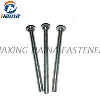Grade 4.8 or 8.8 Carriage Bolt With Zinc Plated or Hot Dip Galvanized Surface