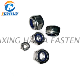 ISO7040 Stainless Steel SS316 304 Grade 5 / 8/ 10 Lock Nuts