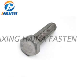 Stainless Steel SS304 SS316 Hex Head Set Screws (DIN7990)