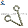 M6 M8 M10 Stainless Steel Machine Lag Eye Screws Eye Hooks