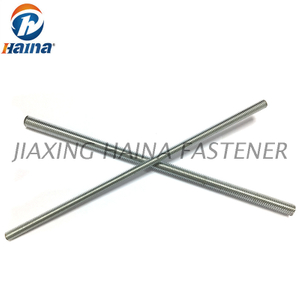 DIN975 A2-70 SS304 Stainless Steel Thread Bar Full Threaded Rod