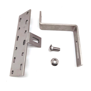 Stainless Steel Solar Hook Photovoltaic Parts for Residential Tile Roof